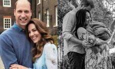 Príncipe William e Kate saúdam Harry e Meghan por nascimento da filha