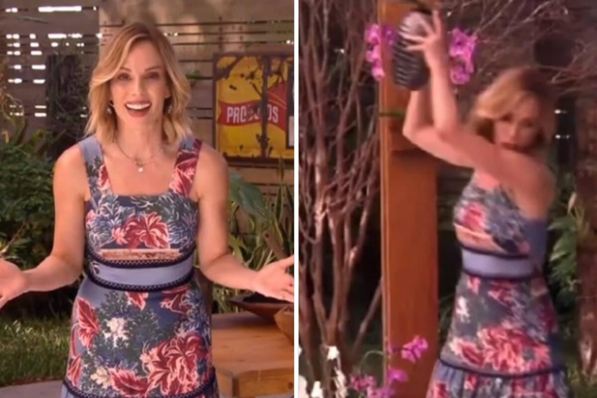 """Ana Furtado brinca sobre 'surto' durante 'É De Casa': """"Teve gente achando que pirei de vez"""""""