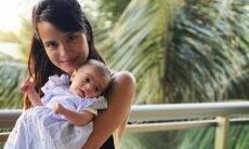 Ana Verena comemora os dois meses da filha com Fábio Assunção