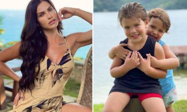 """Andressa Suita nega que pretende ter mais filhos: """"Já encerrei"""""""