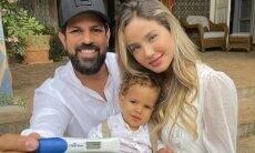 Biah Rodrigues mostra reação de Sorocaba ao descobrir que será pai de novo