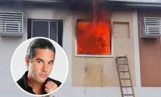 Ator Fernando Sampaio recebe apoio de famosos após incêndio