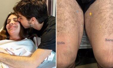 João Fernandes homenageia Mabel Calzolari com tatuagens