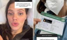 Laura Neiva detalha segunda gravidez e revela que já tomou a vacina contra a Covid-19