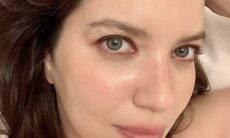 """Nathalia Dill mostra sobrancelhas naturais: """"Nunca mais faço"""""""