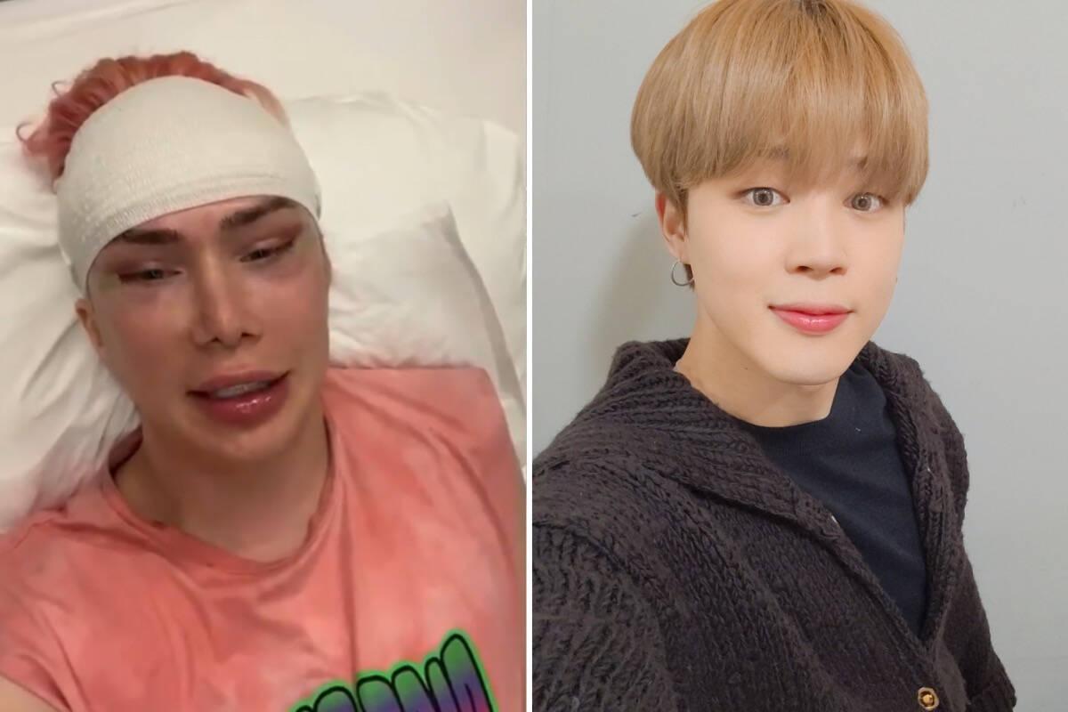 Britânico diz se identificar como coreano após 18 cirurgias para se parecer com cantor do BTS