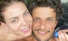 Sheila Mello troca beijos com o namorado, Feijão, nas redes sociais; confira