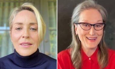 Sharon Stone se diz uma vilã melhor que Meryl Streep e causa polêmica