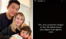 """Sammy Lee revela que seu casamento com Pyong Lee acabou após """"Ilha Record"""""""