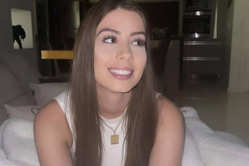 """Maria Lina posta fotos e Whindersson se derrete: """"Amo ver você sorrir"""""""