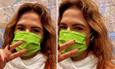 """Luciana Gimenez reclama do preço dos táxis em Nova York: """"Só ando de metrô"""""""