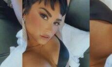 """Demi Lovato comenta sobre sua primeira cena de sexo: """"Fiquei um pouco ansiosa"""""""