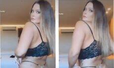 Geisy Arruda reposta vídeo após ser censurado: 'perderam minha raba'