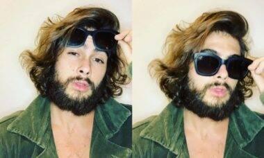 Rafa Vitti posa com barba e cabelo longos e é comparado a Che Guevara