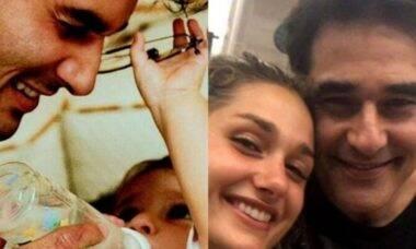 Luciano Szafir celebra aniversário de Sasha Meneghel: 'tantas alegrias'