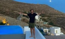 Filho do Faustão posta clique curtindo viagem de férias na Grécia