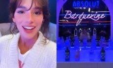 Bruna Marquezine ganha bar em garagem transformada em balada: 'barquezine'