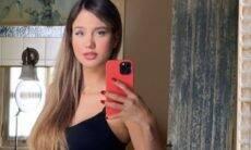 Biah Rodrigues posta novo clique exibindo gravidez: '22 semanas dela'
