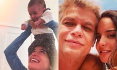 Esposa de Fabio Assunção posta clique raro com a filha: 'todo meu mundo'