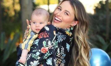 Lorena Carvalho desabafa sobre cirurgia feita no filho de 4 meses