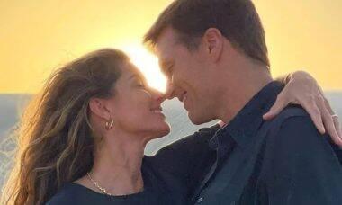 Tom Brady se declara para Gisele: 'amo mais hoje do que há um ano'