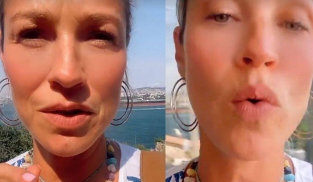 Luana Piovani sobre perrengue na Turquia: 'não temos nossas malas'