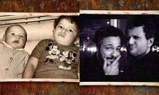 Selton Mello posta foto com Danton Mello e se declara: 'irmandade'