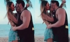 Sarah Andrade e Lucas Viana postam dancinha com direito a beijos