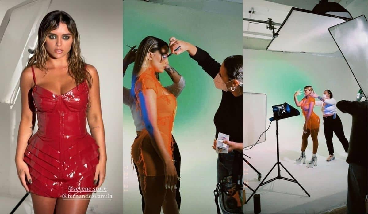Rafa Kalimann encanta a web ao mostrar bastidores de ensaio fotográfico (Foto: Reprodução/Instagram)
