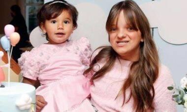 Rafinha Justus parabeniza a irmã Manu: 'dia do meu amorzinho'