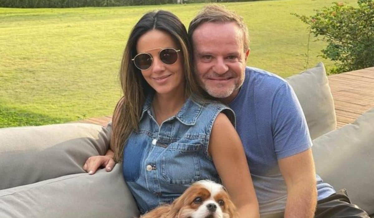 Paloma Tocci e Rubens Barrichello confirmam fim do relacionamento