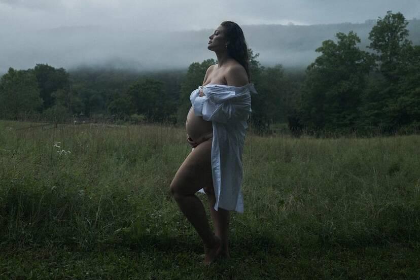 Ashley Graham revela que está grávida do segundo filho