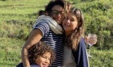 """Dira Paes comemora o aniversário com os filhos: """"Renovei o meu pacto com a vida"""""""