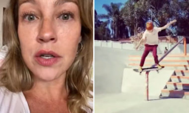 """Luana Piovani se incomoda com o filho andando de skate sem proteção: """"Me resta orar"""""""
