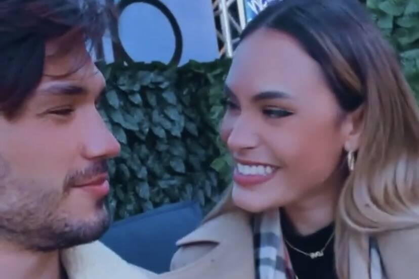 """Lucas Viana se derrete por Sarah Andrade em jantar nas alturas: """"Minha melhor companhia"""""""