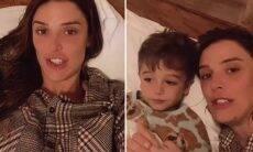 """Rafa Brites conta como o filho está lidando com sua gravidez: """"Está amando!"""""""