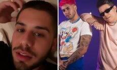 """Zé Felipe se explica após parceria musical com DJ Ivis: """"Não sou amigo dele"""""""