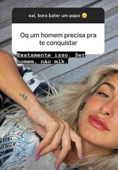 Ex de Ítalo Ferreira manda indireta: 'tem que ser homem, e não moleque' (Foto: Reprodução/Instagram)