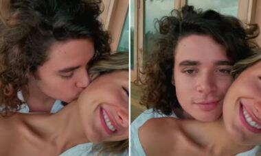 """Sasha posta vídeo de viagem com o marido e se derrete: """"Sou tão apaixonada"""""""