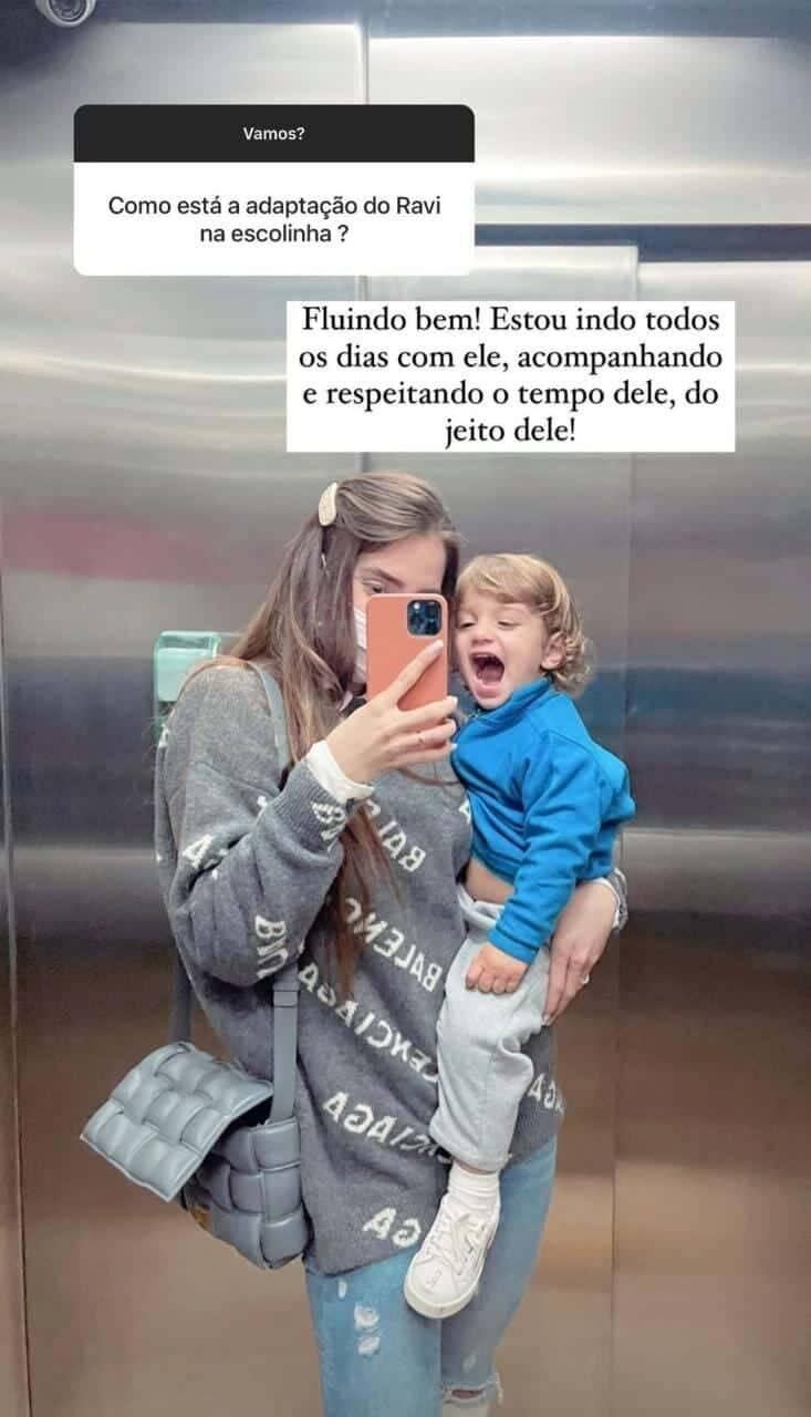 Romana Novais fala sobre a maternidade: 'é enlouquecedora' (Foto: Reprodução/Instagram)