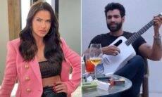 Andressa Suita registra Gusttavo Lima cantando: 'show particular? Temos'