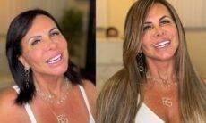 Gretchen surge de novo visual ao adotar megahair loiro: 'escândalo'