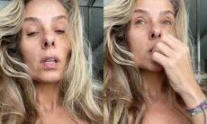 Adriane Galisteu encanta os fãs ao postar vídeo sem make e filtros