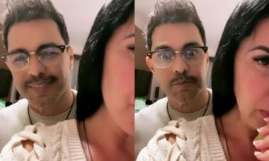 Esposa de Zezé Di Camargo sobre novo visual do cantor: 'Freddie Mercury'