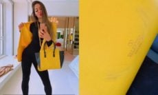 Mayra Cardi revela ter queimado bolsa de R$ 10 mil: 'tô nem aí'