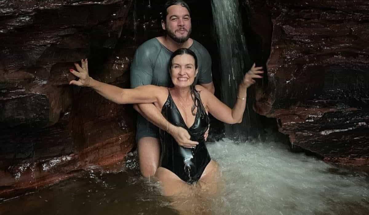 Túlio Gadêlha posta cliques de viagem ao Jalapão com Fátima Bernardes