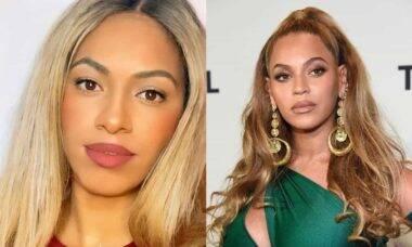 Sósia brasileira da Beyoncé faz sucesso no TikTok e impressiona os fãs