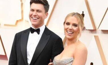 Scarlett Johansson dá à luz ao seu primeiro filho com Colin Jost