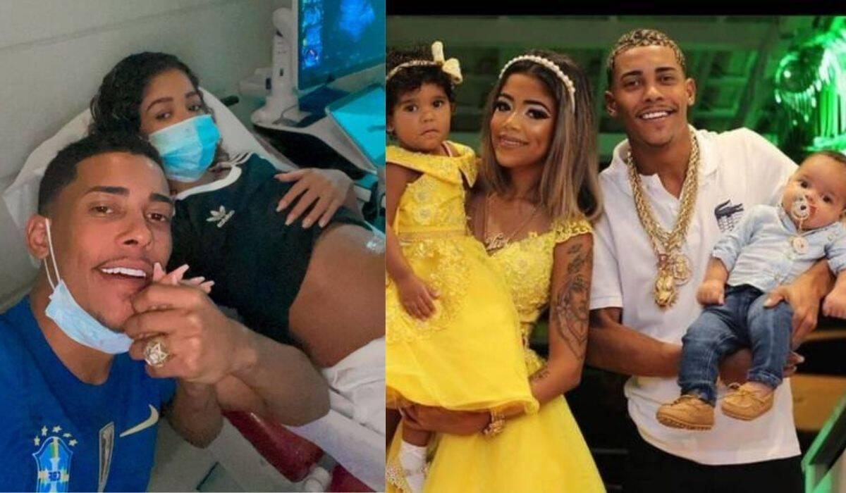 MC Poze e namorada de 17 anos esperam terceiro filho: 'mais uma princesa'