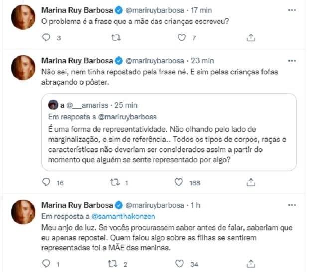 Marina Ruy Barbosa rebate críticas sobre 'representatividade ruiva' (Foto: Reprodução/Instagram)